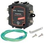 Eaton Cutler-Hammer DCXCAB2 Home Cable Satellite TV Surge Trap 20,000 amps