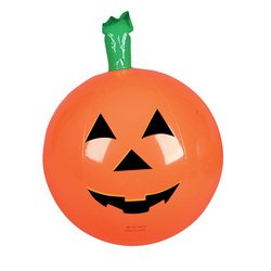 Rhode Island Novelty One Halloween Inflatable Pumpkin Jack O Lantern Beach Ball - 16