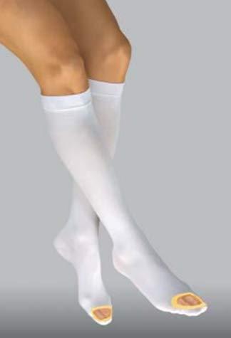 - Jobst Seamless Anti-Embolism Elastic Knee Hi's, 111402 SML-REG, 1 Pair Each (2)