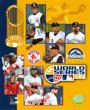 North East Sports Merchandise Boston Red Sox 2007 World Series Match Up Composite Photograph