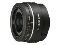 Sony 50mm f/1.8 SAM DT Lens for Sony Alpha Digital SLR Cameras - Fixed from Sony