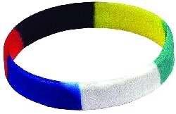 Bracelet-Plan Of Salvation Faith Band-Multi Color