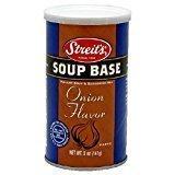 Streit's Soup Base Onion Flavor 5 Oz. Pack Of 3.