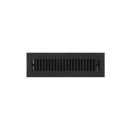 Signature Hardware 294696 Modern Cast Iron Floor Register - 2-1/4