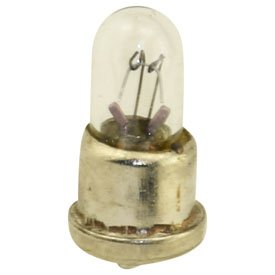 Replacement For 32 12V .06A T1 MINIATURE FLANGE BASE Light Bulb 10 PACK (Flange Base Miniature Light Bulb)