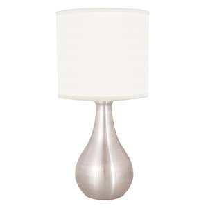 Lloytron Eclipse Touch Table Lamp Brushed Chrome Amazon Co Uk