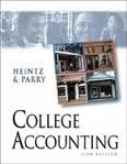 College Accounting, Chapters 1-15