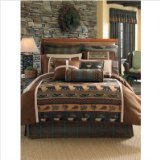 Croscill Caribou Comforter Set, King, Multicolor (Croscill Bedding Window)