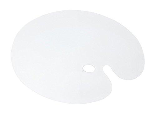 (Jack Richeson 696067 Clear Oval Plexi Palette 17 X 24)