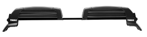 Thule 5401 Snowcat 6 Ski Roof Mount Carrier for Raised Rail Factory Racks