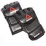 Reebok MMA Gloves, Black, Medium