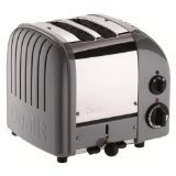 Dualit 2 Slice Classic Toaster, Cobble Gray