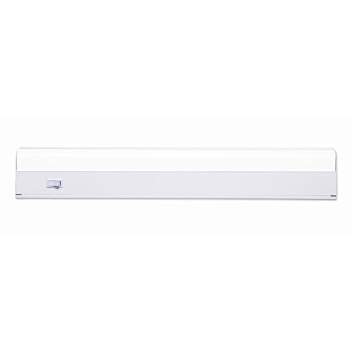 Utilitech 24.25-in Under Cabinet Fluorescent Light (Whi Under Cabinet)