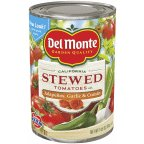 Del Monte Tomatoes, Stewed, Mexican Recipe 14.5 oz (Pack of 12)