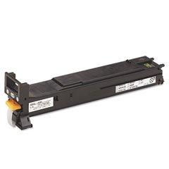 Konica-Minolta A06V133 A06V133 High-Yield Toner, 12000 Page-Yield, Black