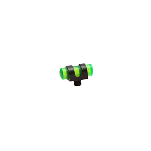 Carlson's Choke Tubes Fluorescent Front Sight with Thread, Florescent Green, 3 x 56
