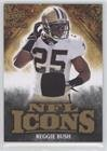 Reggie Bush #213/299 (Football Card) 2009 Upper Deck Icons NFL Icons Jersey [Memorabilia] #IC-RU