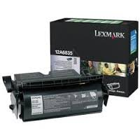Genuine OEM brand name LEXMARK PREBATE Toner Cartridge for T520/522 (20K Yield) 12A6835 (Toner 12a6835 Laser Cartridge)