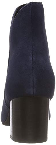 301 Suede Blue navy Bianco Boot Mujer V cut Para Botines Azul vwxd4w