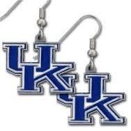 Licensed Dangle Earrings University Kentucky product image