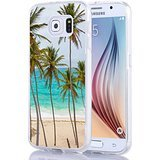 img - for Galaxy S7 Case, Samsung Galaxy S7 Case Beach Palm Trees book / textbook / text book