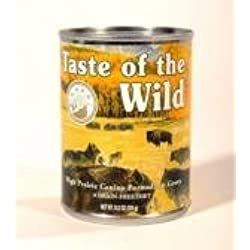 Taste Of The Wild High Prairie Can Dog Food Case,13.2 oz.