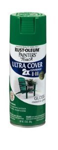 Painter's Touch® 2XTM 12 Oz Meadow Green Cover Spray Paint Gloss [Set of 6] by Painter's Touch