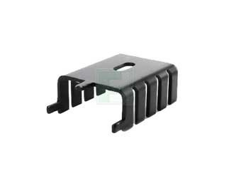 AAVID THERMALLOY 563002B00000G TO-220 Package 13.00 C/W Thermal Resistance Integrated Tab Channel Heat Sink - 500 item(s) by Aavid Thermalloy