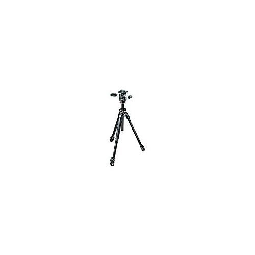 Manfrotto MK290DUA3-3WUS | Dual Kit Aluminum 3 Section Tripod with 3W Head
