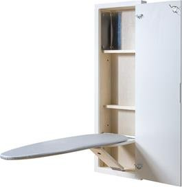 Price comparison product image NuTone Icudwhx Ironing Center with White Raised Panel Door and Hinges