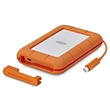 LaCie 5TB Rugged Thunderbolt / USB-C Mobile External Hard Drive, 130MB/s Transfer Rate by LaCie (Image #3)