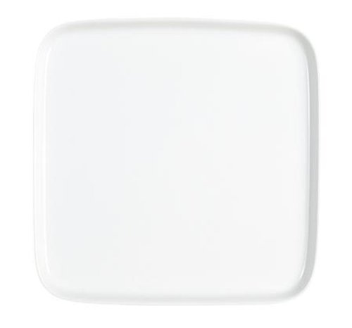 KAHLA Abra Cadabra Tray Squarish 9-1/2 by 9-1/2 Inches, White Color, 1 Piece
