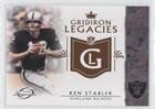 Ken Stabler (Football Card) 2011 Topps Gridiron Legends - Gridiron Legacies - Ks Legends