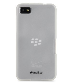 (Melkco - Poly Jacket TPU Case for Blackberry Z10 - (Transparent Mat) - BBBZ10TULT2TSMT)