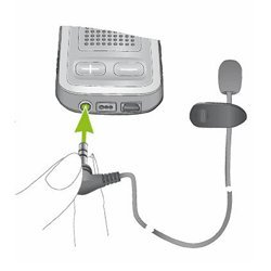 Phonak MC1 External Lapel Microphone for Com Pilot