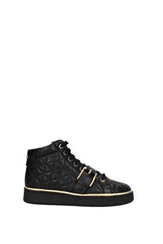 Noir EU Pierre Cuir Sneakers Balmain Femme CBV151902M xYwqPBwRO