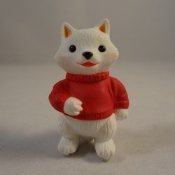 Hallmark Merry Miniature Fox on Skates 1994