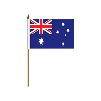 Amazon.com : US Flag Store Australia Flag, 4 by 6-Inch : Outdoor Flags : Garden & Outdoor