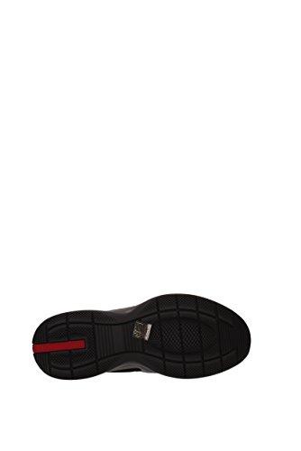 Prada Noir Homme 4e3075reteplume Tissu Eu Sneakers ZqPwZ4zS