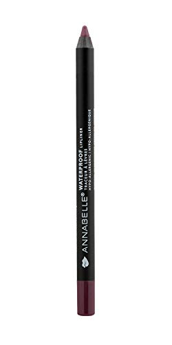 Annabelle Waterproof Lip Liner, Bordeaux, 0.04 oz