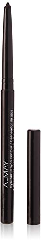 Almay Oil-Free Eyeliner Pencil, Black, Ophthalmologist Tested, Hypoallergenic