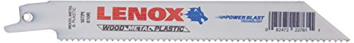 (LENOX General Purpose Reciprocating Saw Blade - 10 TPI 6