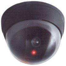 Luxus Kameraattrappe mit LED Kamera Atrappe Dummy Überwachungskamera