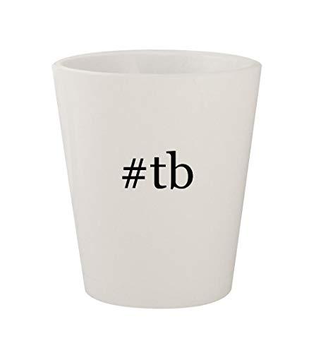 Price comparison product image tb - Ceramic White Hashtag 1.5oz Shot Glass