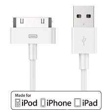 USB Sync Cable Charger Cord Data for iPhone 4 4S iPod 4G 4th Gen
