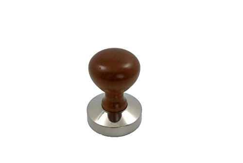 Gmark Stainless Steel Espresso Tamper 53mm Wood Handle GM2006