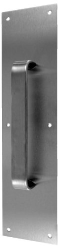 Don-Jo 7138 Half Round Pull Plate, Oil Rubbed Bronze Finish, 4'' Width x 16'' Height by Don-Jo