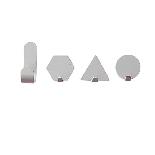Amazon.com: Juego de perchas de hierro artístico con gancho ...