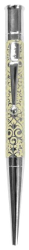 Pierre Belvedere Damask Ballpoint Pen, Ivory (075980)