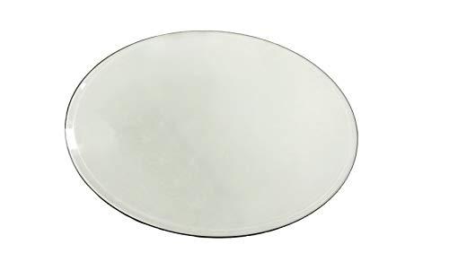 Milan MILAN-42-10BEVEL Round Tempered Glass Table Top, 42